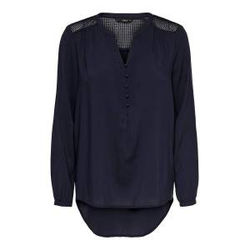 ONLY Lockeres Hemd Damen Blau Female L