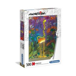 Clementoni® Puzzle Puzzle 500 Teile Mordillo Collection - Der Lover, Puzzleteile