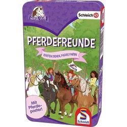 Schmidt Spiele Schleich Pferdefreunde BMM Metalldose Schleich Pferdefreunde Bring-Mich-Mit-Spiel in