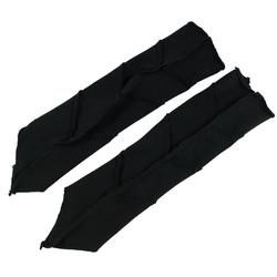 Guru-Shop Armstulpen Psytrance Armstulpen - schwarz schwarz