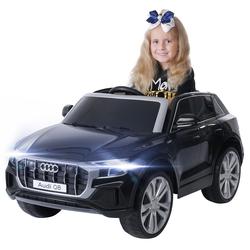 Kinder Elektroauto AUDI SQ8 4M SUV Kinderauto Elektrofahrzeug Spielzeug Auto (Weiß)