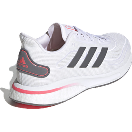 adidas Supernova W cloud white/grey five/signal pink/coral 39 1/3