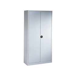 CP Aktenschrank abschließbar grau 100 cm x 195 cm x 42 cm