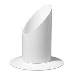 Rayher Kerzenständer Für Kommunion- und Taufkerzen mit 4,0 cm weiß