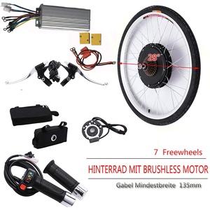 "SENDERPICK 28"" Ebike Motor Umrüstsatz Hinterrad, 250W E-Bike Conversion Kit Elektro-Fahrrad Ebike Heckmotor (36 V)"