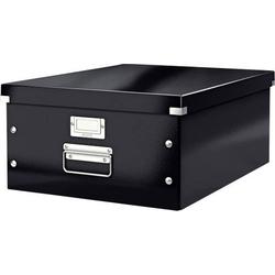 Leitz Aufbewahrungsbox 6045 Click & Store Schwarz (B x H x T) 369 x 200 x 482mm 1St.