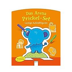 Das Arena Prickel-Set - Lustige Aufstellfiguren - Buch