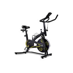 PHOEBE CAT Fahrradtrainer Speedbike Heimtrainer Fahrrad Indoor Cycle mit LCD-Konsole gelb