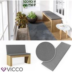 VICCO Bankauflage 120x40x5cm Bankpolster Gartenbank-Auflage Sitzpolster Auflage