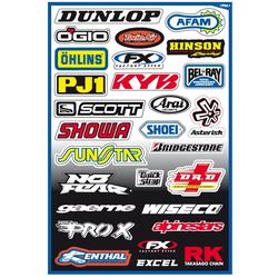 Büse FX Sponsor Sticker Kit A