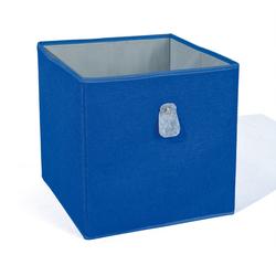 ebuy24 Aufbewahrungsbox Winna Aufbewahrungsbox blau, grau.