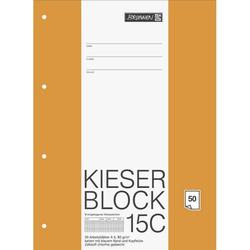 Kieser-Block A4 kariert 50 Blatt