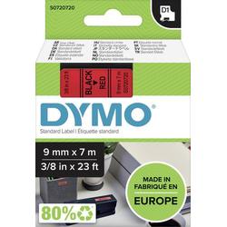 DYMO Schriftband D1 40917 Bandfarbe: Rot Schriftfarbe:Schwarz 9mm 7m