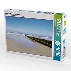 Nordsee-Buhne / Norderney Lege-Größe 64 x 48 cm Foto-Puzzle Bild von Mandie D. Puzzle
