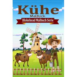 Kühe Malbuch