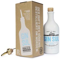 Gin Sul Hausbarset (Gin Sul 0,5L 43% Vol. + Ausgießer + Karton)