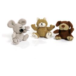 Karlie Plüschspielzeug Hund, Katze, Maus