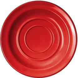WACA Untertasse, (4 Stück), Melamin, 14 cm rot
