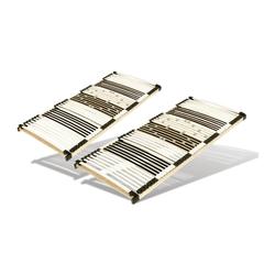 Set mit 2 x 44 Leisten Lattenrost, 80 cm x 200 cm