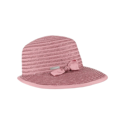 Seeberger Sonnenhut (1-St) Cap mit Schirm rosa