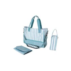 wuuhoo Wickeltasche Wickeltasche Amy mit Kinderwagen-Befestigung blau