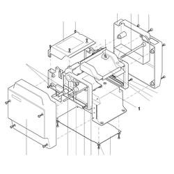 PROXXON 27040-01-01 Sockel für Dickenhobel DH40