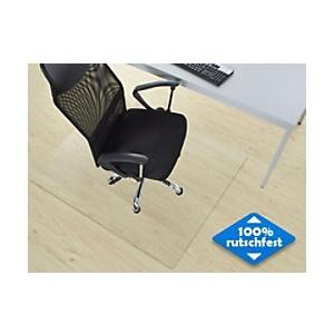 Bodenschutzmatte Hartböden Floordirekt Pro Neo Transparent Vinyl 1000 x 1200 mm