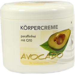 Avocado Körpercreme Q10