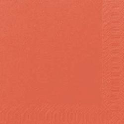 Duni Zelltuch Servietten 24x24 3lg 1/4 mandarin - 8x250 Stück