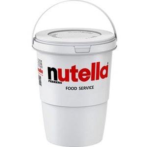 Brotaufstrich Nutella Schokoladenaufstrich, im Eimer, 1,35kg