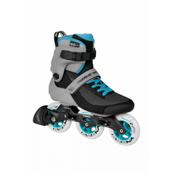 Powerslide Lite Grey Blue Inline Skate 100