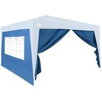 DEUBA Pavillon wasserabweisend blau