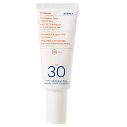 Korres Yoghurt Sonnencreme-Gel für das Gesicht SPF30 40 ml
