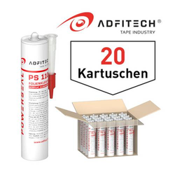 Adfitech Folienkleber 'PS110'  blau 310 ml / Krt a 20 Kartuschen