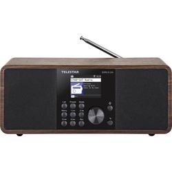 Telestar DIRA S 24i Internet Tischradio Internet, DAB+, UKW AUX, Bluetooth®, DAB+, DLNA, Internetra