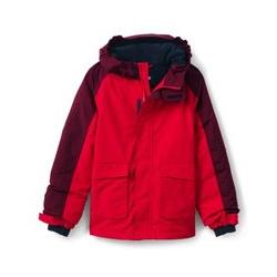 Wasserdichte Jacke SQUALL - 122/128 - Rot