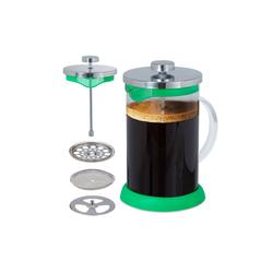 relaxdays Kaffeebereiter Glas Kaffee- & Teebereiter 800 ml