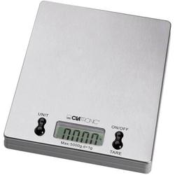 Clatronic KW 3367 Küchenwaage digital Wägebereich (max.)=5kg Edelstahl