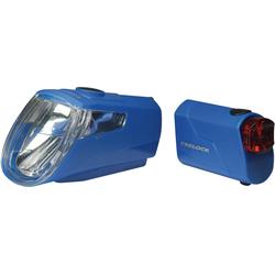 Trelock Fahrradbeleuchtung LS 360 I-GO ECO blau