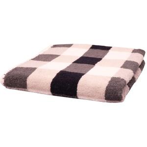 Cawö Handtuch Karo in schwarz/weiss/grau, 50 x 100 cm