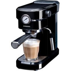 MELISSA Espressomaschine Butler 16110005 Espressomaschine Siebträger 15 Bar Siebträger-Espressomaschine - Die Kleine für den großen Genuß, 1.1l Kaffeekanne