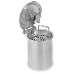 Tauchbehälter, Stahl, 2l, HxØ 100x230mm
