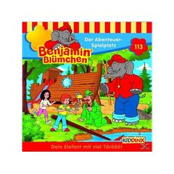 Folge 113: Der Abenteuer-Spielplatz - (CD)