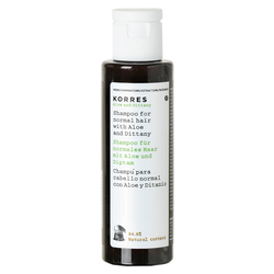 Korres Little Aloe & Dittany Shampoo 40 ml