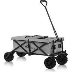 SAMAX Faltbarer Bollerwagen Offroad Cool - Grau