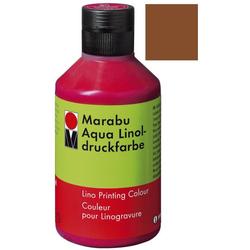 MARABU MARABU 1510 13 040 250ml Linoldruckfarbe Aqua m.braun