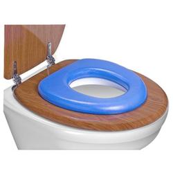 reer WC-Kindersitz, soft, Toilettensitz-Verkleinerer passt auf jede Toilette, Farbe: blau