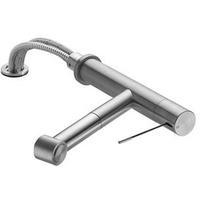 KWC Ono Spültisch-Hebelmischer für Unterfenstermontage, mit ausziehbarer Brause 10.151.053.700FL