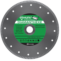 Hufa Fliesen Diamanthexe-scheibe Ø 180mm