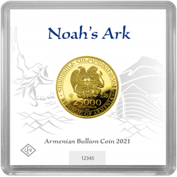 1/2 Unze Gold Armenien Arche Noah 2021